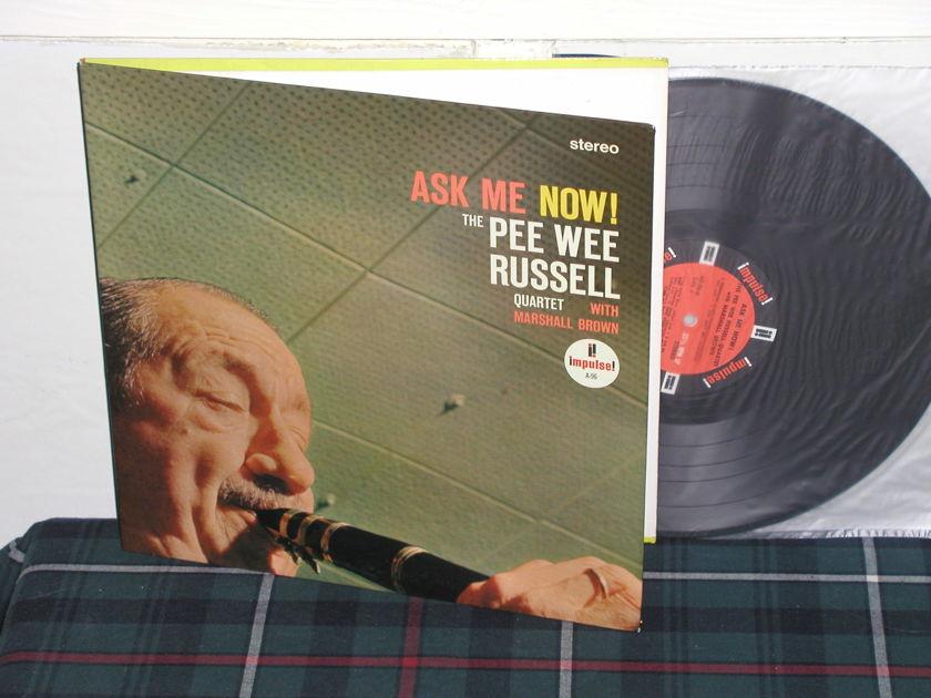 Pee Wee Russell - Ask Me NOW!   (Pics) Impulse Orange/Black STEREO