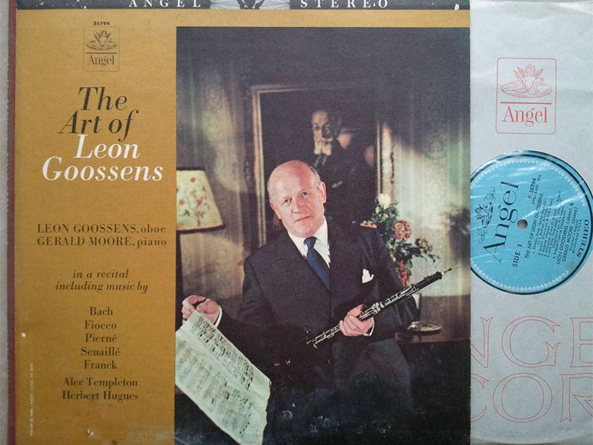 ANGEL BLUE   LEON GOOSSENS - - The Art of Leon Goossens / with Gerald Moore / NM