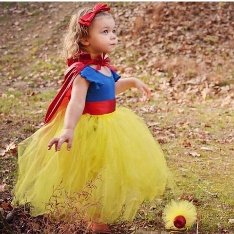 Snow White DIY Halloween Costume