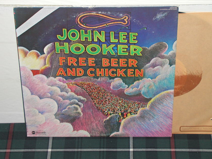 John Lee Hooker - Free Beer An Chicken ABC first label pressing.