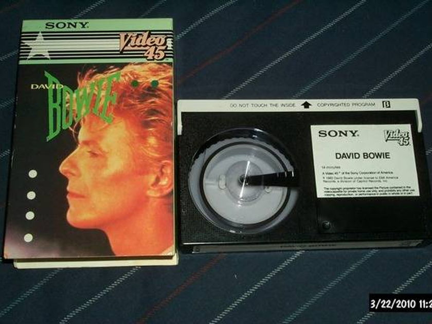David Bowie - Sony Beta Hi-Fi s/t let's dance +2