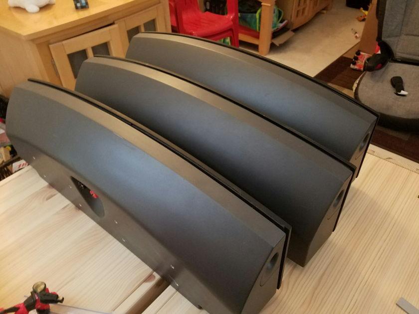 Martin Logan Fresco 3 speakers with 2 brackets