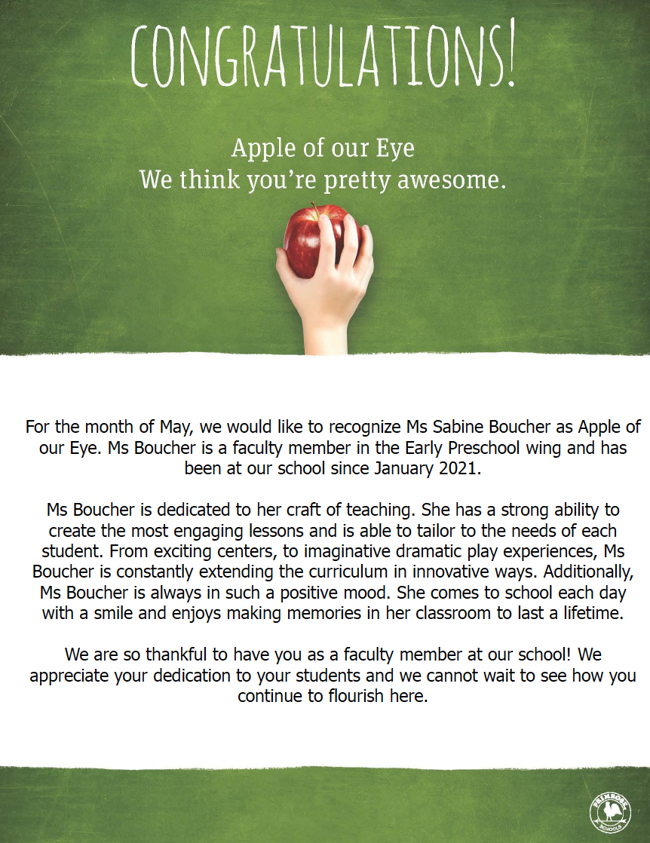 May Apple of our Eye