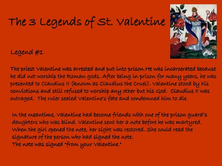 ... What Did He Do. It Is Also Possibly The Reason Why St Valentine Became  Incredibly Popular In France And England