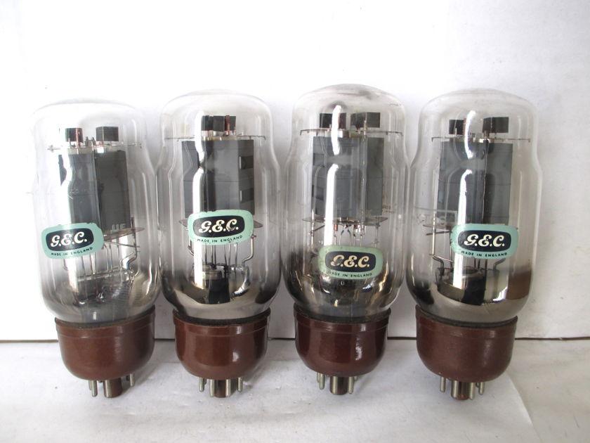 KT66 GEC CV1075 EL37 GEC Made in England 4pcs CUP getter test 6mA/V
