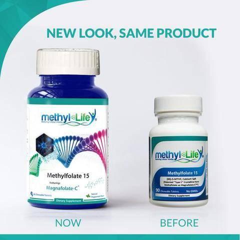 New Look Methylfolate 15