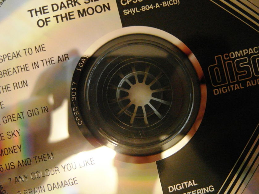 Pink Floyd Dark - Side of Moon (japan sony 1st edi, 10a1, cp35)