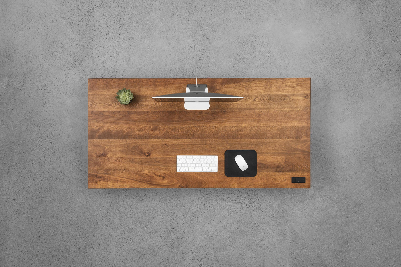 Sway cherrywood - sit-stand desk - ergonofis