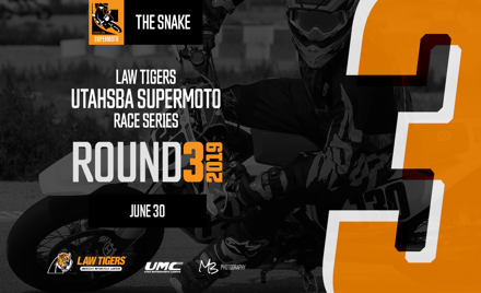 UtahSBA SuperMoto RD3 | June 30th | The Snake