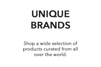 Shop a wide selection of products curated from all over the world