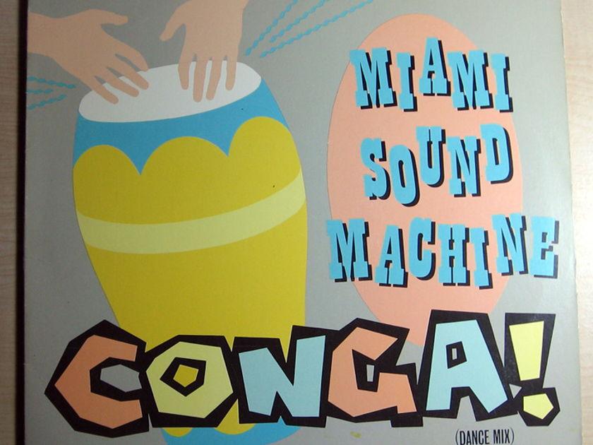 Miami Sound Machine - Conga! - STERLING Hot Press 1985 Epic 49-05253