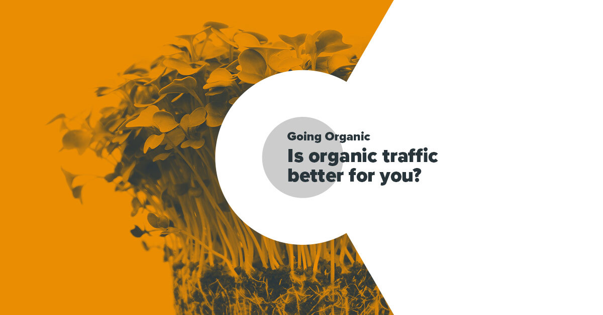 Going Organic - Is Organic Traffic Better for You?