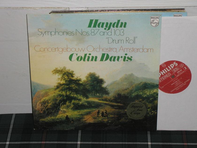 Davis/Coa - Haydn 87/103 Philips Import Pressing 9500
