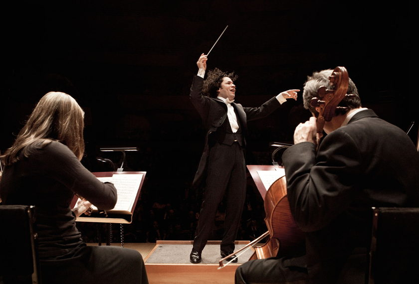 Dudamel Conducts American Icons artwork
