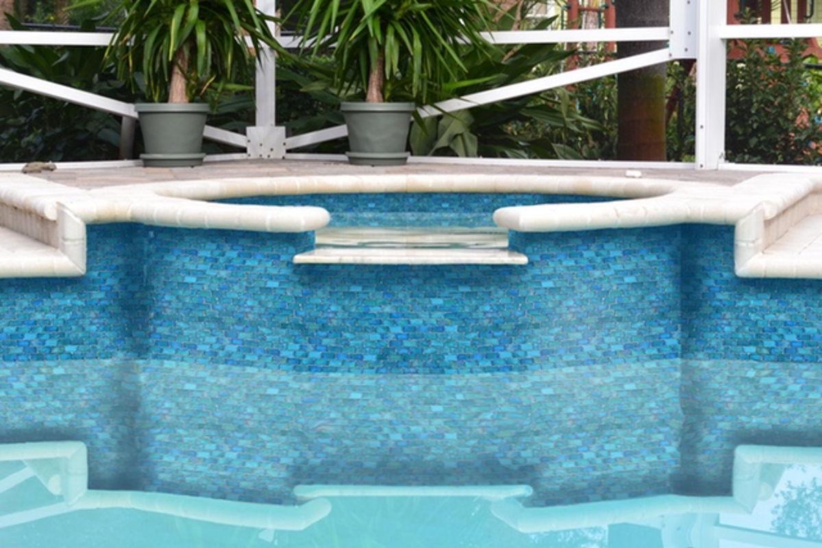 GP82348B2 - Turquoise, 1 x 2 Glass Tile 2