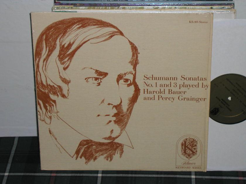 Bauer/Grainger - Schumann Sonatas Klavier ks-105 from 1970