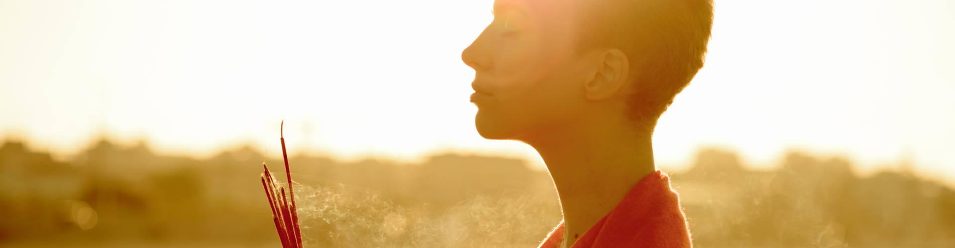 incense meditation