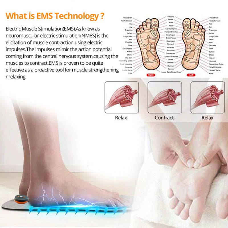EMS Foot Massager,  Foot Massager Mat,  Tens Foot Massager, Foot Massage Pad