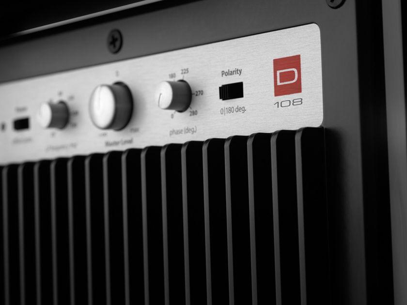 JL Audio d108 Dominion Series 500 Watt Powered Sub-Woofer