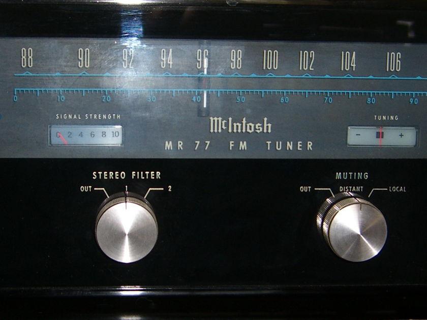 McIntosh MR-77 FM Tuner