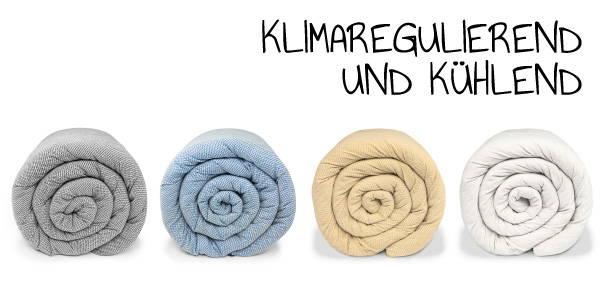 Baumwoll Bezüge LEVIA Decke