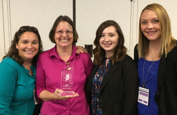 DSPIN Award winner, Deborah Morelock