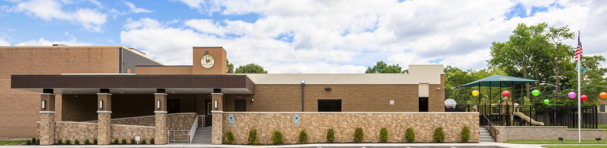exterior of Primrose School of North Edison