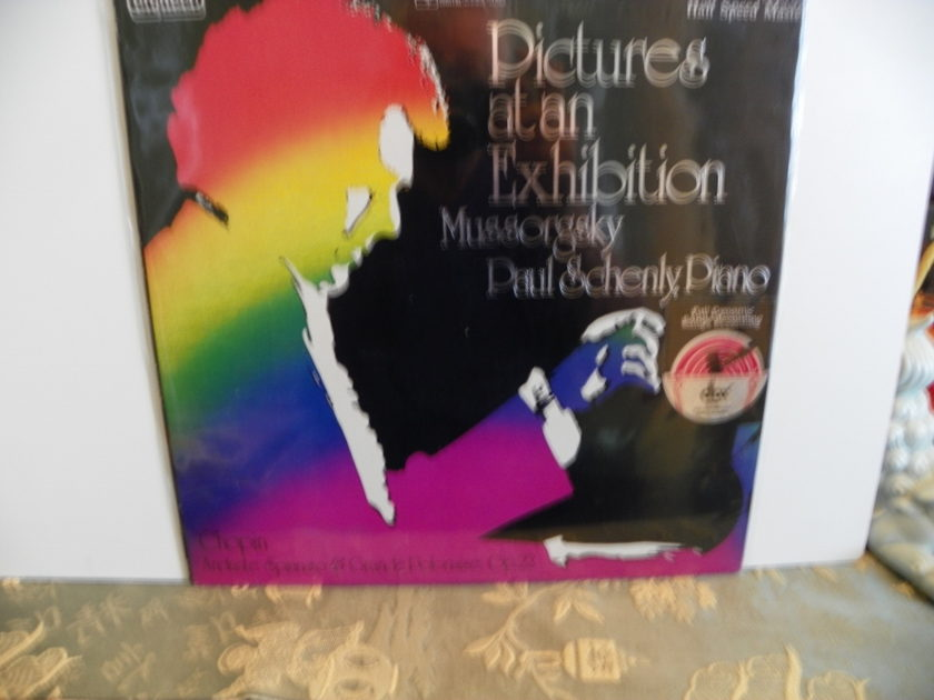 MUSSORGSKY - PICTURES AT AN EXHIBITION PAUL SCHENLY dbx ENCODED