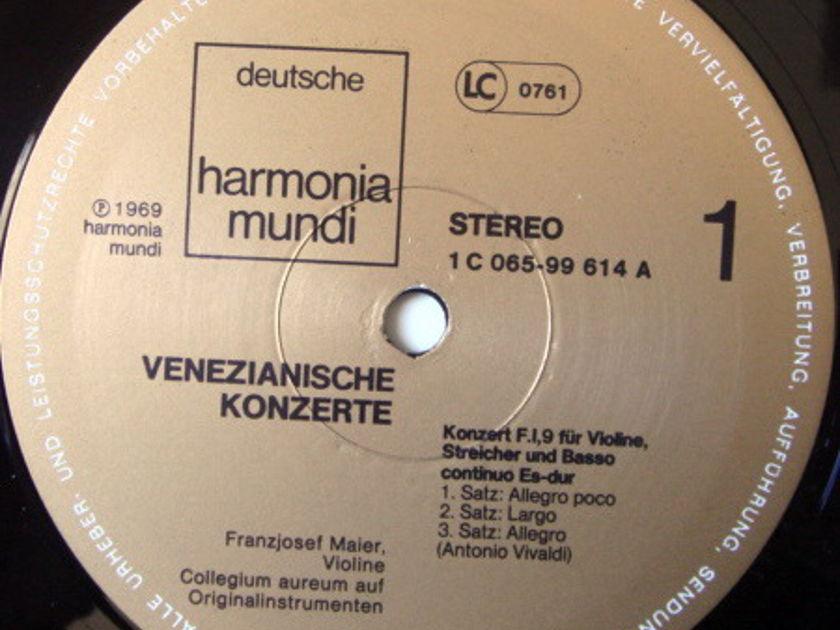 ★Audiophile★ Harmonia Mundi / COLLEGIUM AUREUM, - Venezianische Konzerte, NM!