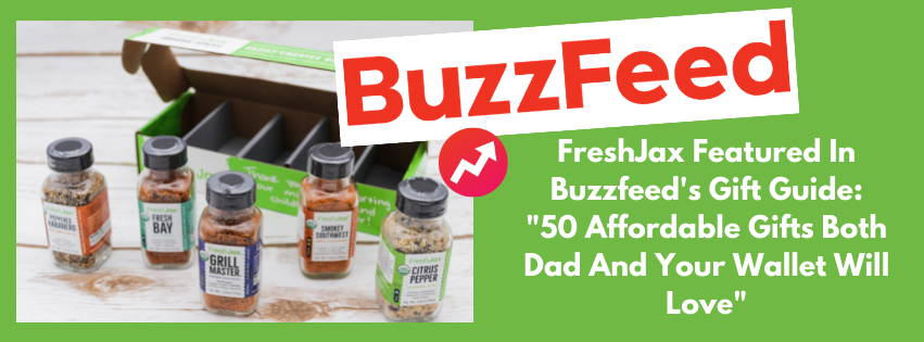 FreshJax Organic Spices, Buzzfeed, Organic Grilling Spices Gift Set