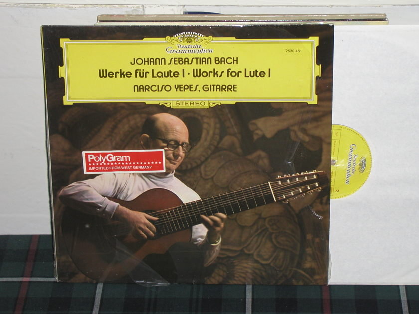 Yepes - Works for Lute DG german import  press