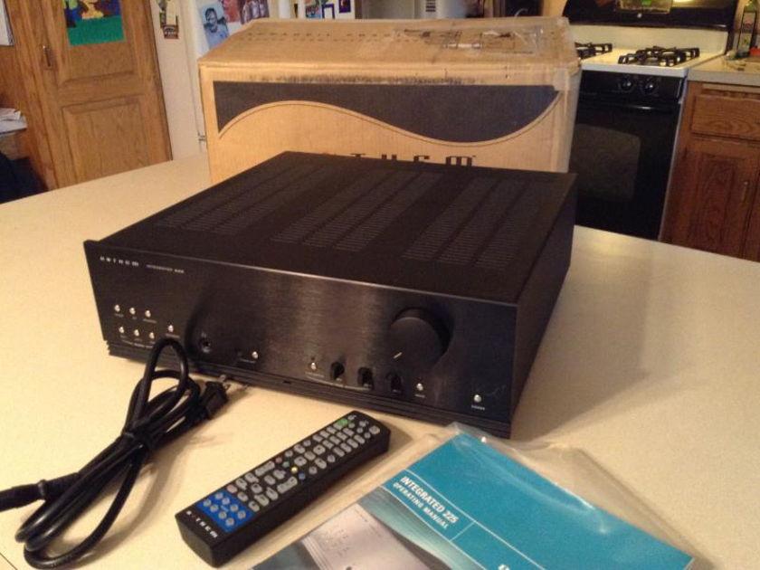 Anthem  INT 225 NICE box manual, remote cord