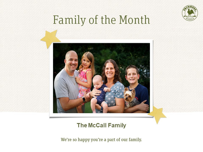 The McCall Family