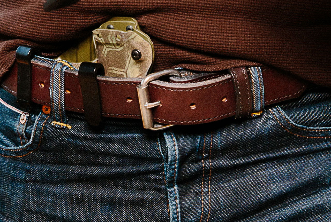 Refined Gun Belt