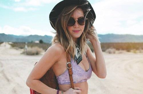 Kayla Carlyle, local, Los Angeles-based, woman entrepreneur of Cheeky Carlyle Swim
