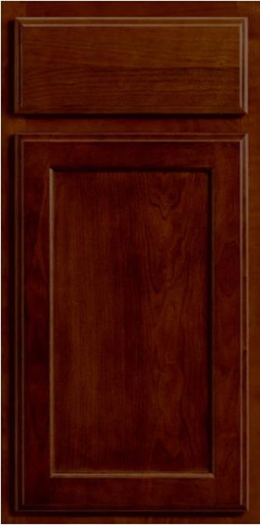 SPRING VALLEY MAPLE PECAN CABINET