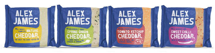 Alex James Cheese Packaging Design Dzinemafia 02