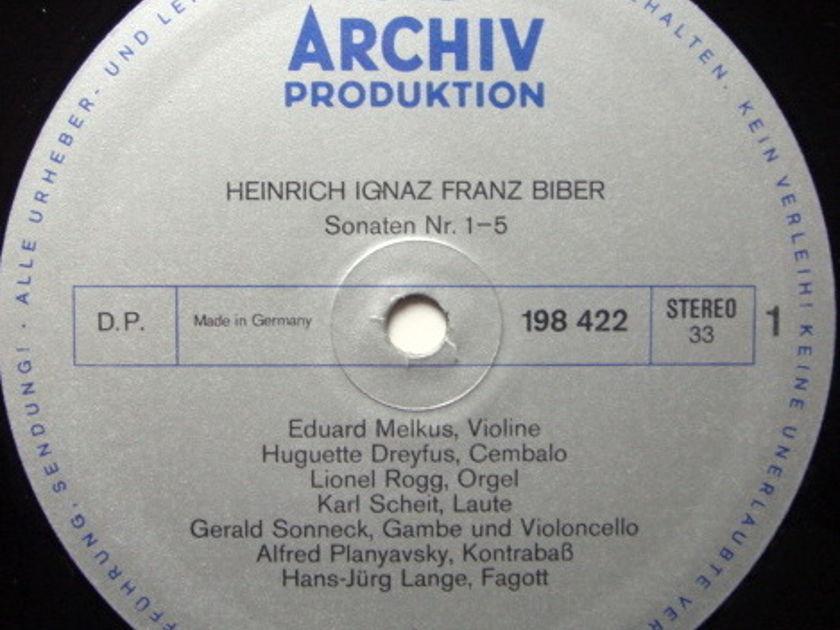 Archiv / MELKUS, - Biber Sonatas of the Rosary,  NM, 2 LP Set!