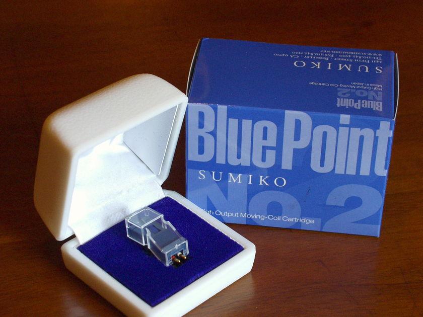 Sumiko  Blue Point No 2 virtually new