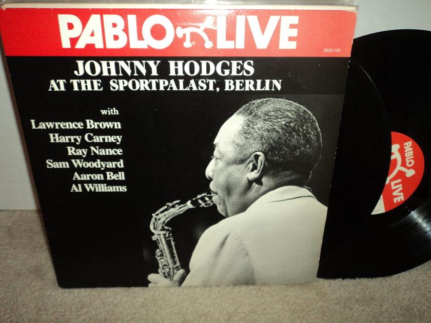 "Johnny Hodges  - ""At The Sportpalast, Berlin"" 2LP set Pablo Live  NM"