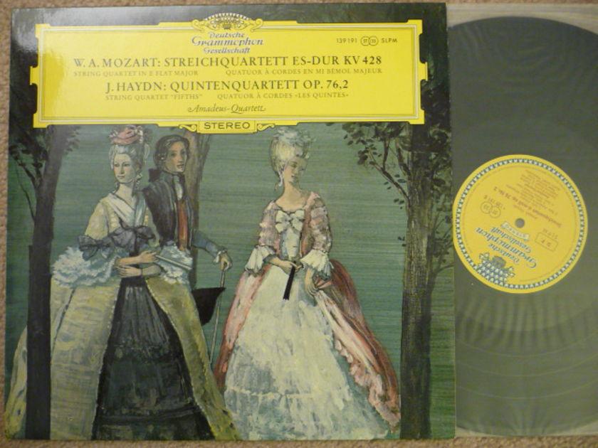 Mozart  - Quartets DGG Tulip DGG LP EXCEL
