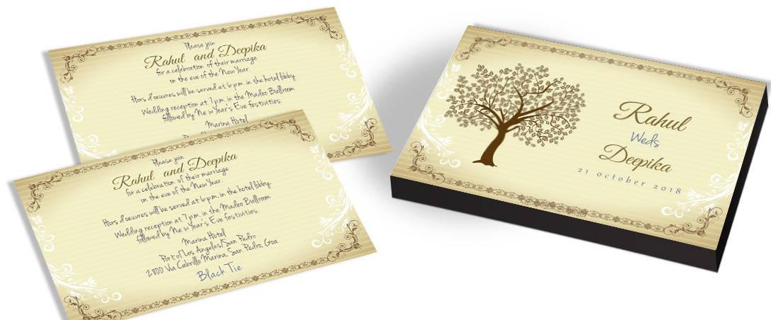 Magical Tree Wedding Invitations