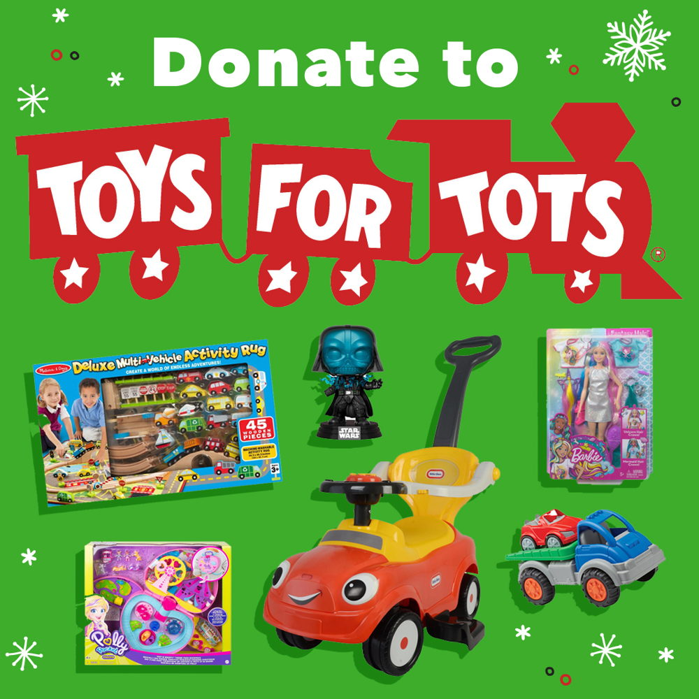 Picture of Buy a toy, give a toy! Make some holiday magic and donate new, unwrapped toys to Toys For Tots at NFM.