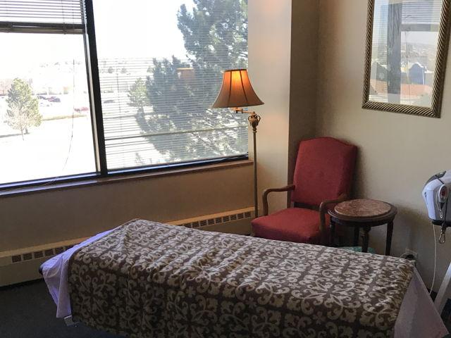 Fully Set Up Massage Room