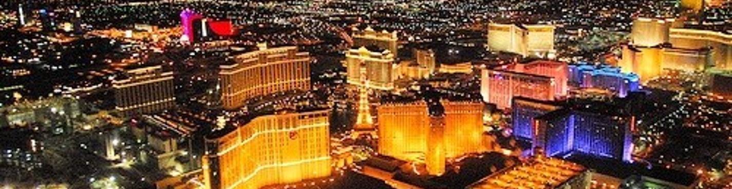 Лас-Вегас. Вечерняя Обзорная вертолётная экскурсия.