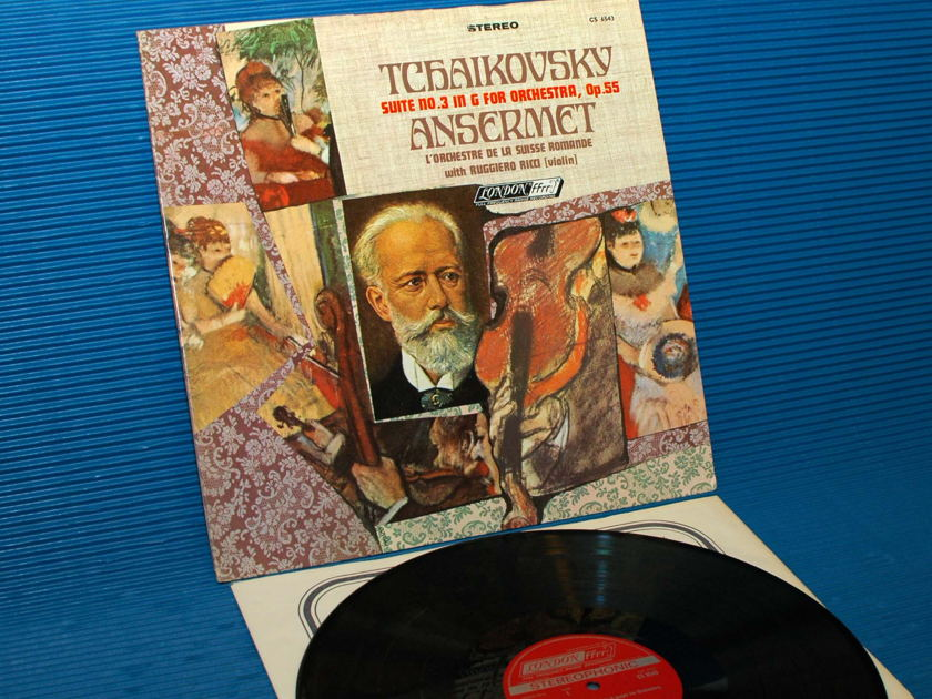 "TCHAIKOVSKY/Ansermet -  - ""Suite no. 3 for Orchestra"" -  London 1967 1st pressing"