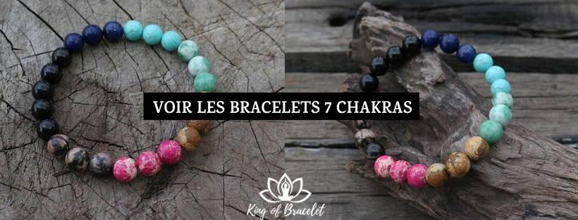 Bracelet 7 Chakras Authentique - King of Bracelet