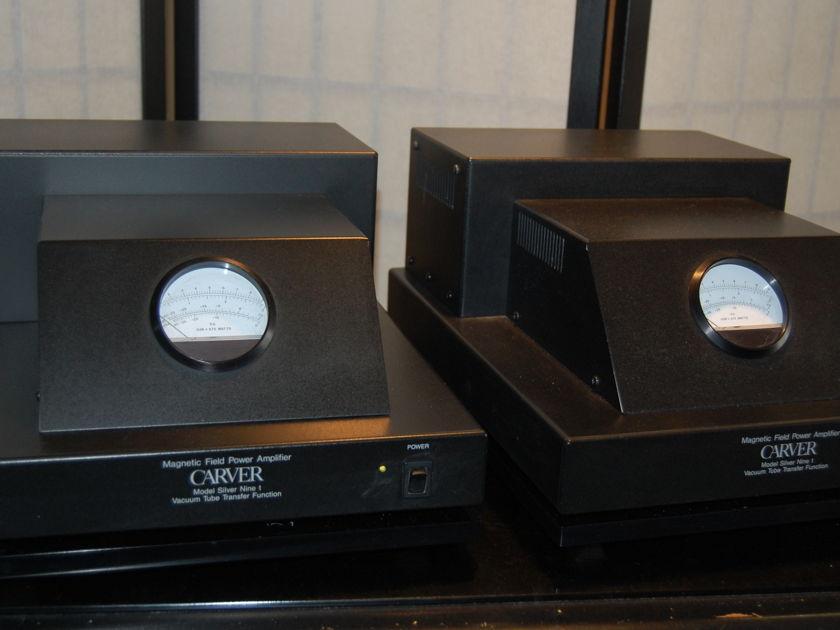 CARVER SILVER 9-t Mono Block Amps (pr)