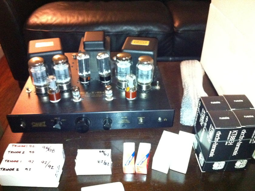 Cary Audio Design SLI 80 Tube Integrated Amplifier