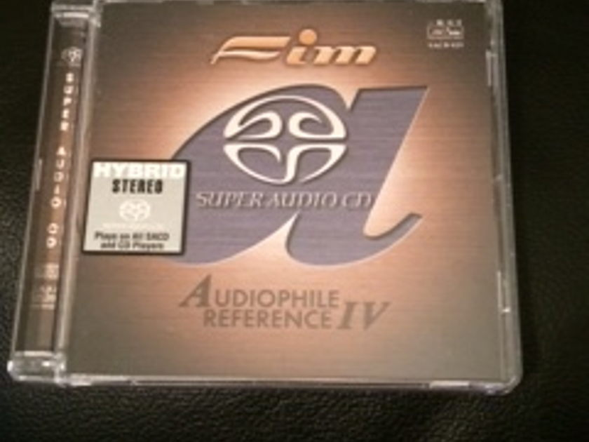 FIM - Super Audio CD (SACD) HYBRID Audiophile Reference IV (4) FIM SACD 029